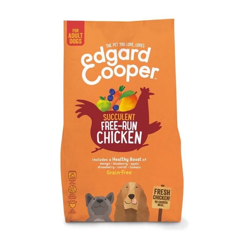 Edgard & Cooper Adult Pollo fresco, Pomodoro e Mirtilli