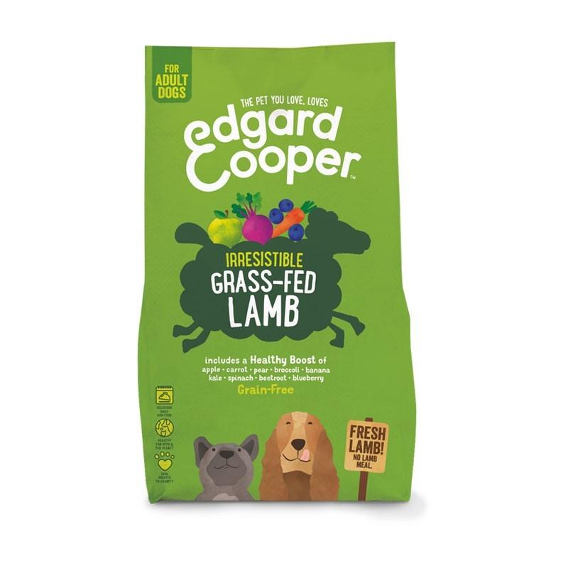 Edgard & Cooper Adult Grain Free Agnello Fresco, Mela e Carota