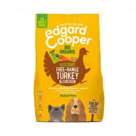 Edgard & Cooper Adult Bio Pollo e Tacchino Freschi, Cocco e Chia
