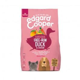 Edgard & Cooper Puppy Grain Free Pollo e Anatra con Banana Verde e Mango