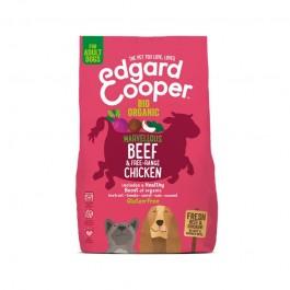 Edgard & Cooper Adult Pollo e Manzo Biologico con Barbabietola e Cocco