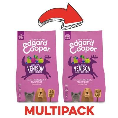 Edgard & Cooper Adult Grain Free Anatra e Cervo con Mela e Barbabietola