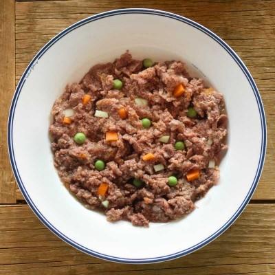 Edgard & Cooper Manzo con Barbabietola, Broccoli e Pera per Cani 400gr