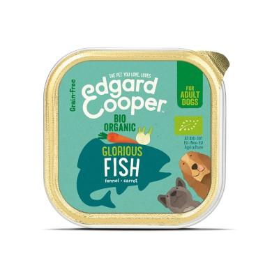Edgard & Cooper Pesce Biologico con Carote e Finocchio per Cani 100 g
