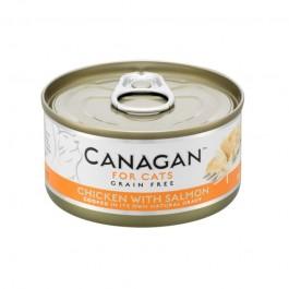 Canagan Pollo con Salmone Umido per Gatti 75gr