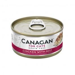 Canagan Pollo con Manzo Umido per Gatti 75gr
