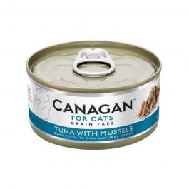 Canagan Tonno con Cozze Umido per Gatti 75gr