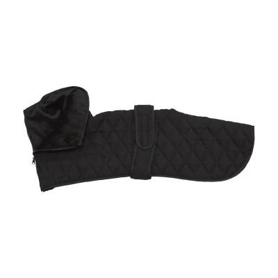 Croci Giubbotto Greyhound Black per Levrieri