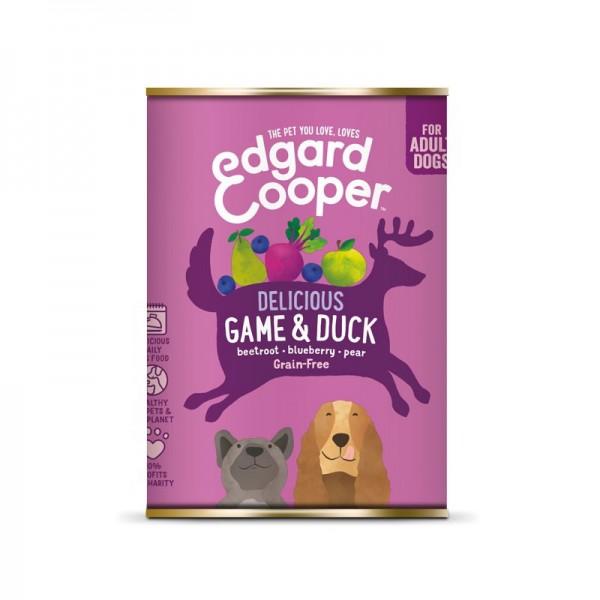 Edgard & Cooper Adult Selvaggina e Anatra con Patate e Mirtilli Palustri