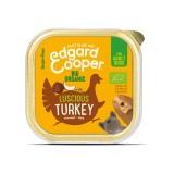 Edgard & Cooper Tacchino Biologico con Cocco e Chia per Cani 100gr