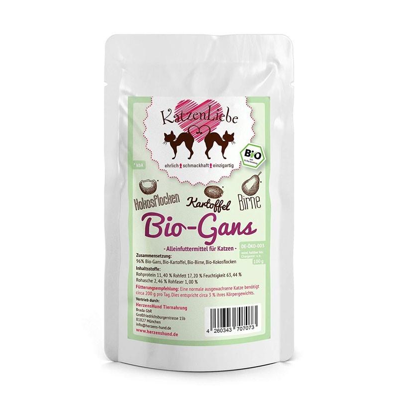 Katzen Liebe Oca Biologica con Patate Bio Umido per Gatti 100 g