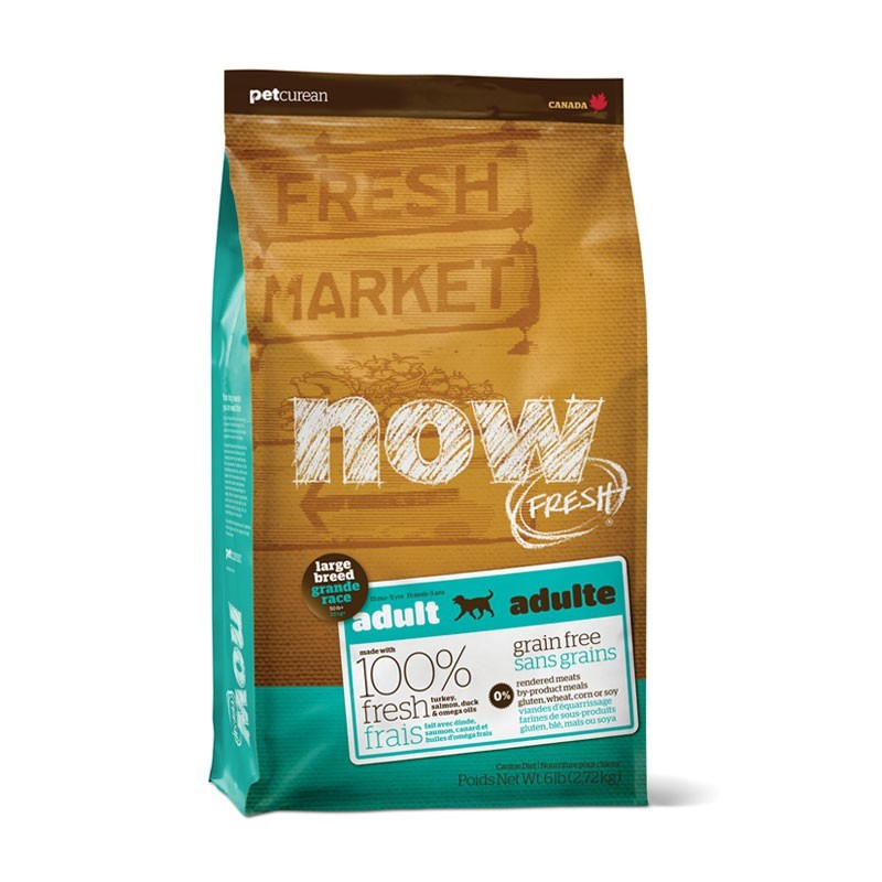 Now Fresh Grain Free Adult Large Breed per Cani