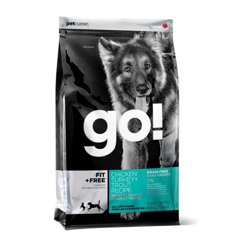 Go! Grain Free Fit + Free Activity & Puppy per Cani