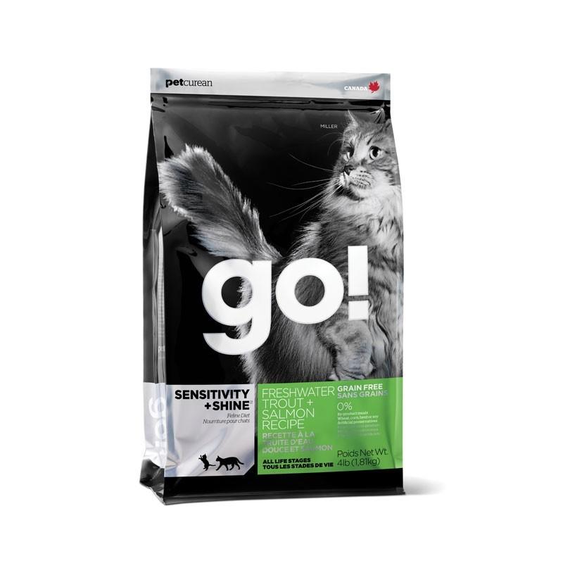 Go! Sensitivity + Shine Grain Free Trota e Salmone per Gatti