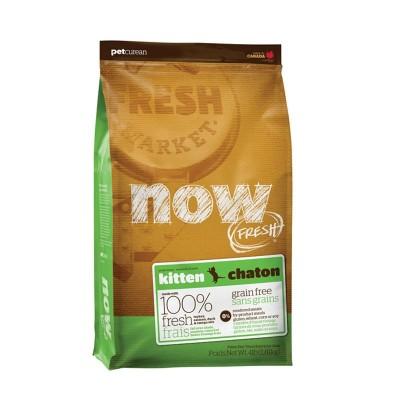 Now Fresh Kitten Grain Free per Gattini