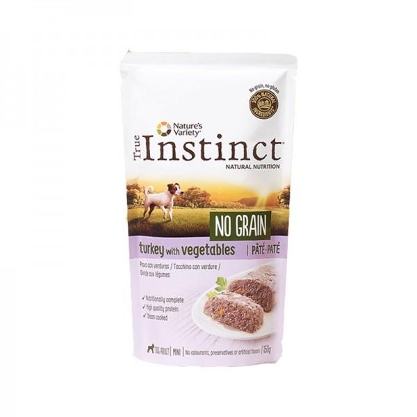 True Instinct Mini Adult No Grain Tacchino per Cani 150g