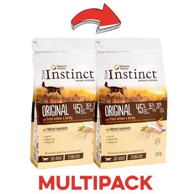 True Instinct Junior Medium Maxi No Grain Salmone per Cani