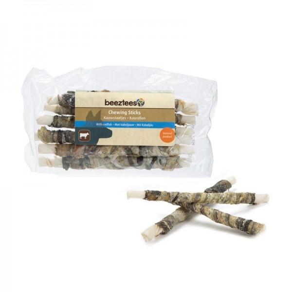 Beeztees Sticks in Pelle di Bufalo e Merluzzo