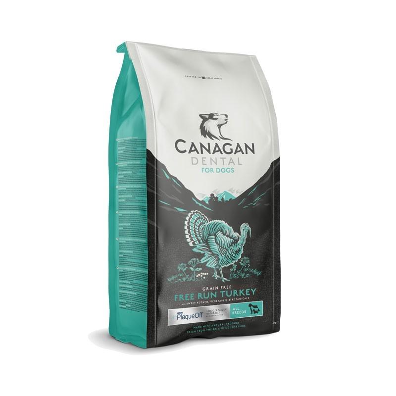 Canagan Free Run Turkey Dental All Breeds per Cani