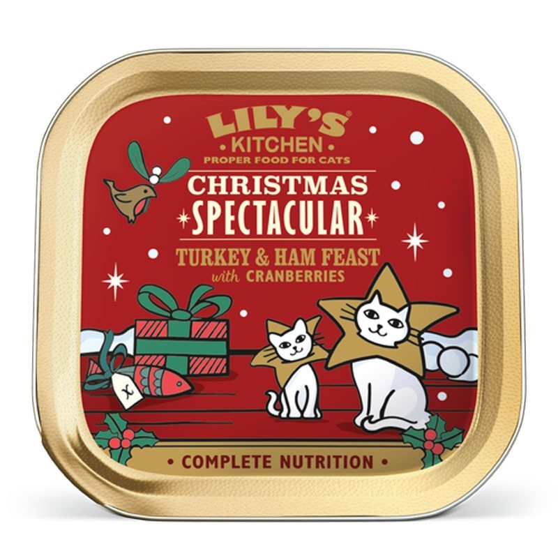 Lily's Kitchen Christmas Spectacular per Gatti 85gr