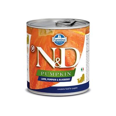 Farmina N&D Pumpkin Puppy Agnello Mirtillo Umido per Cuccioli 285g