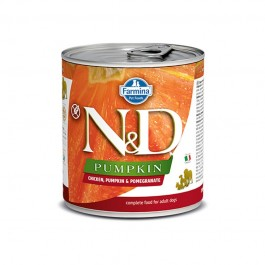 Farmina N&D Pumpkin Adult Pollo e Melograno Umido per Cani 285g