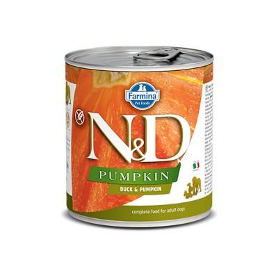 Farmina N&D Pumpkin Adult Anatra e Zucca Umido per Cani 285g