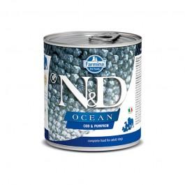 Farmina N&D Ocean Adult Merluzzo e Zucca Umido per Cani 285g