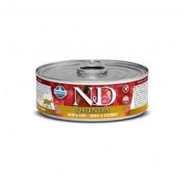 Farmina N&D Quinoa Quaglia e Cocco Umido per Gatti 80g