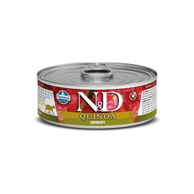 Farmina N&D Quinoa Urinary Umido per Gatti 80g