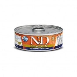 Farmina N&D Pumpkin Agnello e Mirtilli Umido per Gatti 80g