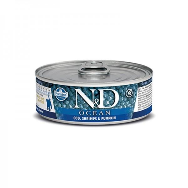 Farmina N&D Ocean Umido per Gattini 80g