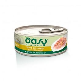 Oasy Natural Adult Tonno con Mango Umido per Gatti
