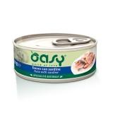 Oasy Natural Adult Tonno con Sardine Umido per Gatti