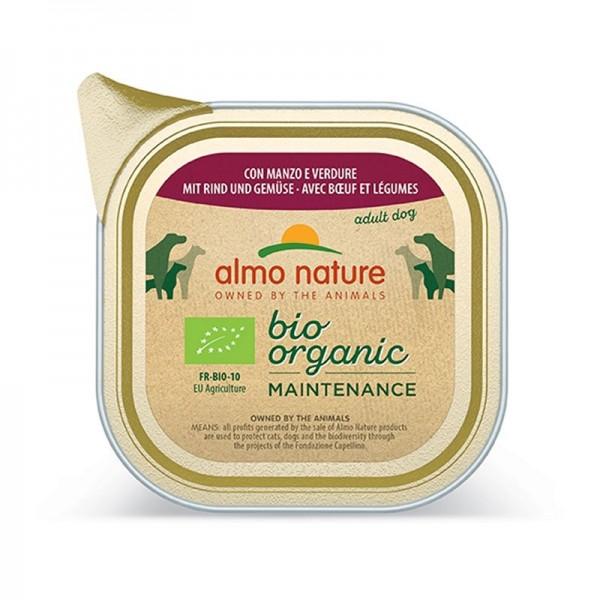 Almo Nature BioOrganic Manzo e Verdure Umido per Cani