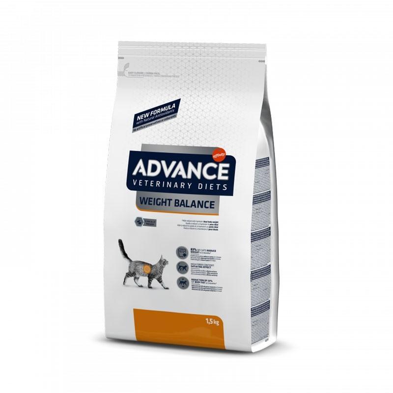 Advance Veterinary Diets Weight Balance per Gatti
