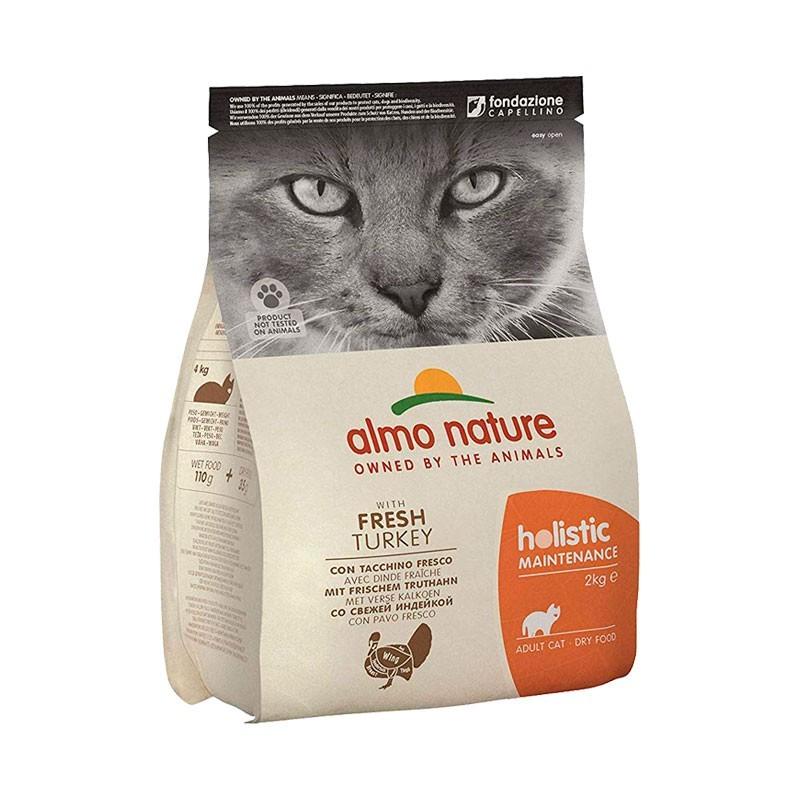 Almo Nature Holistic Adult Tacchino per Gatti