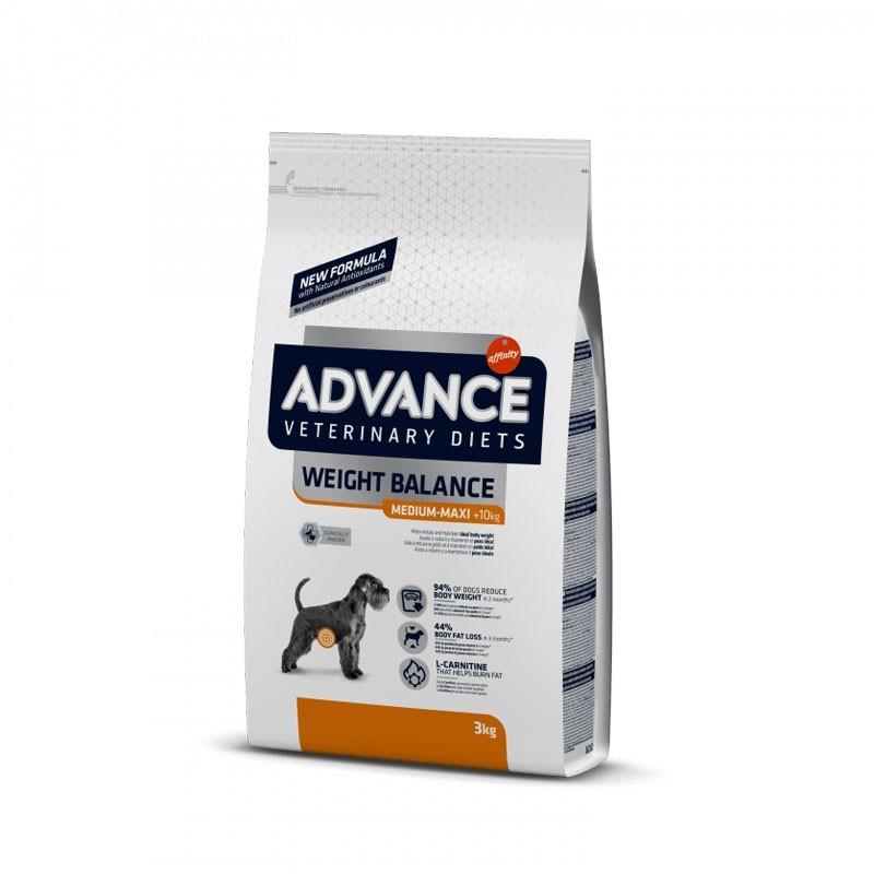 Advance Veterinary Diets Weight Balance Medium Maxi per Cani