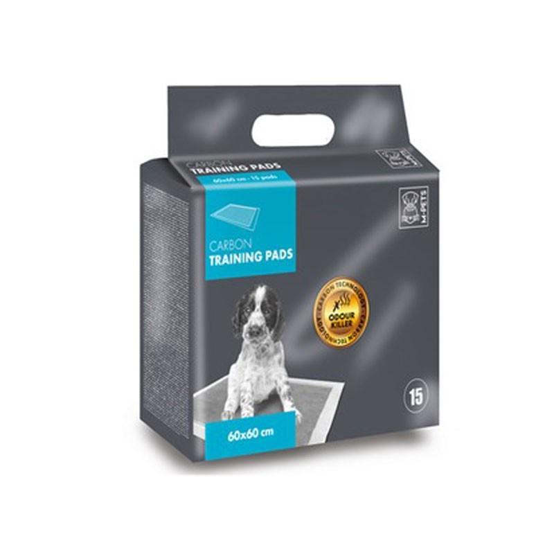 M-Pets Carbon Tappetini Igienici 15pz
