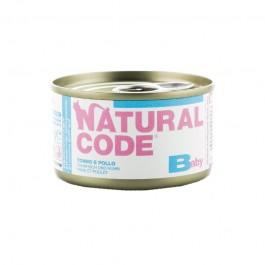 Natural Code Pollo e Tonno per Gattini 85gr