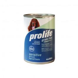 Prolife Grain Free Sensitive Pesce e Patate Umido per Cani 400gr