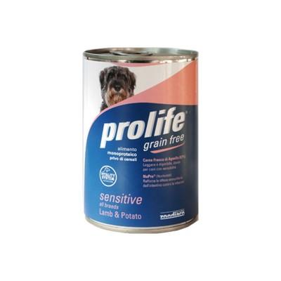 Prolife Adult Sensitive Agnello e Patate Umido per Cani 400gr