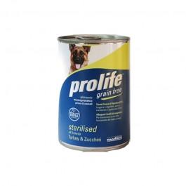 Prolife Grain Free Sterilized Tacchino e Zucchine Umido per Cani 400gr