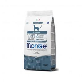 Monge Adult Sterilised Monoprotein Trota per Gatti
