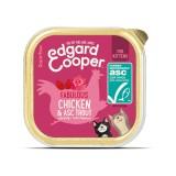 Edgard & Cooper Kitten Pollo e Trota con Fiori di Rosa per Gatti 85gr