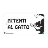 Farm Company Targa Attenti al Gatto