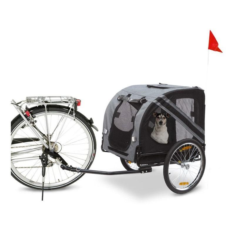 Karlie Carrello per Bici Doggy Liner Grigio/Nero