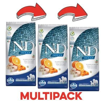 N&D Merluzzo e Zucca Adult Medium Maxi