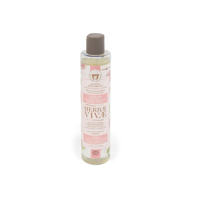 Farm Company Shampoo Riequilibrante Herbae Vivae Linea Biologica per Cani