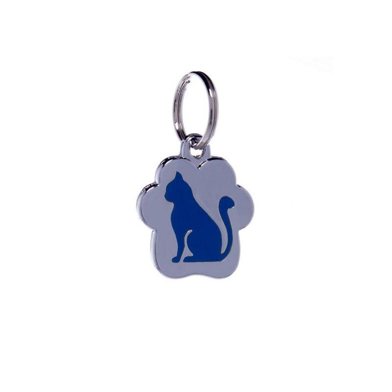 Petitamis Medaglietta Rainbow Gatto Seduto Blu